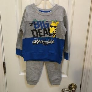 Other - Two Piece Sweatshirt and Pants Set